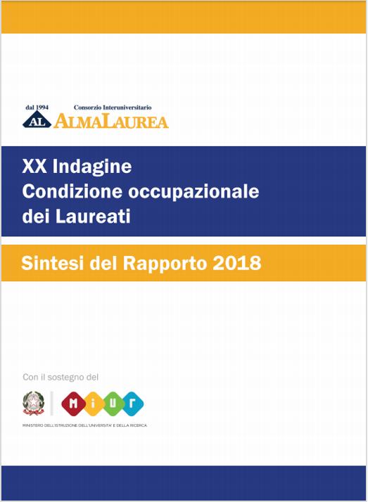 Rapporto AlmaLaurea 2018 - Certifico Srl 40cd7fcc50ca