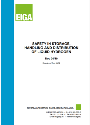 Safety in storage handling and distribution of liquid hydrogen