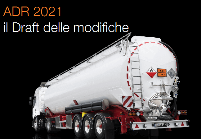 ADR 2021 Draft modifiche
