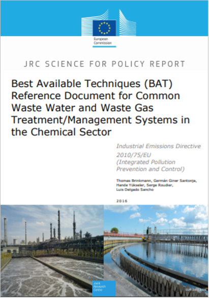 BREF Common Waste Water and Waste Gas Treatment Management Systems in the Chemical Sector