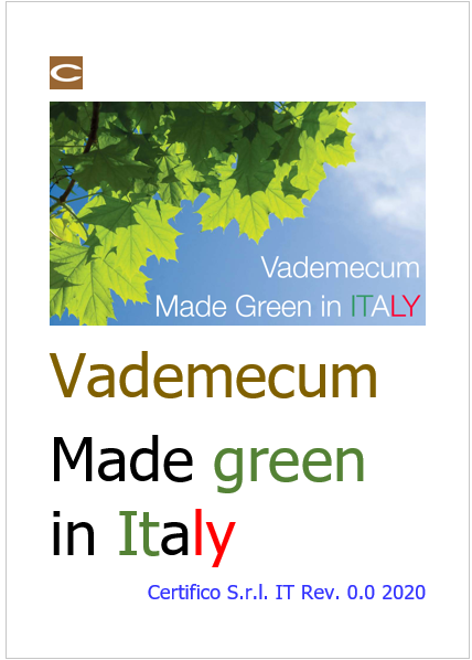 Cover made green in Italy