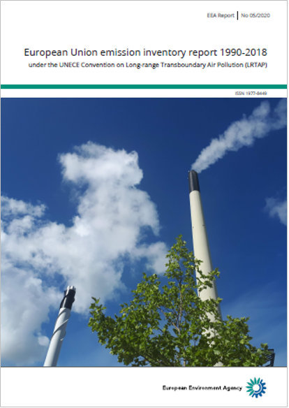 European Union emission inventory report 1990 2018 EEA 2020
