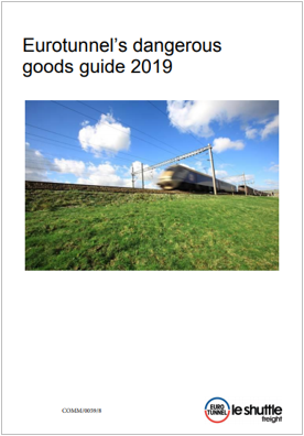 Eurotunnel s dangerous goods guide 2019