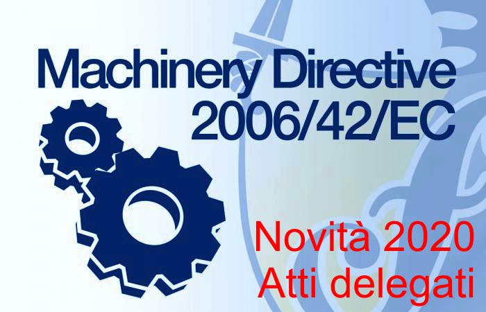 Machinery Directive 2020