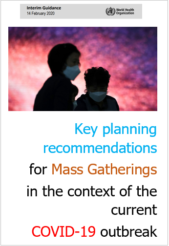 OMS Mass Gatherings COVID 19