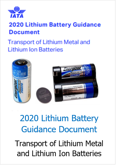 Transport of Lithium Metal and Lithium Ion Batteries IATA