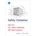 Safety Container ADR - CSC - Ispezioni