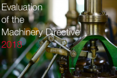 Evaluation  of  the  Machinery  Directive 2018