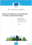 Recommendations and guidelines to foster sustainable design
