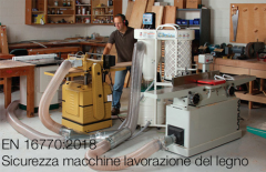 Safety of woodworking machines