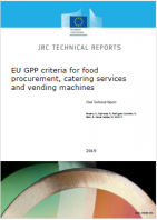 EU GPP criteria for food procurement  catering services and vending machines
