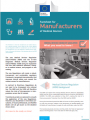 Factsheet for Manifacturers of Medical Devices   In Vitro Diagnostic