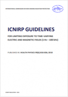 Guidelines for limiting exposure to time varying electric and magnetic fields  1 Hz to 100 kHz