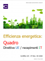 Quadro Efficienza Energetica