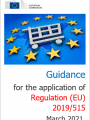 Guidance  Regulation 2019 515